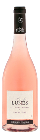 MAS DE LUNÈS Rosé, Vignobles Jeanjean
